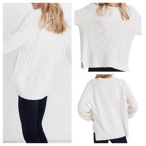 Madewell Copenhagen Cable Sweater